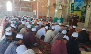 Andi Nurhidayati saat bersilaturahim ke Ma'had Aly Pondok Pesantren As'adiyah Sengkang (Foto: Rahman/zonatimes.com)