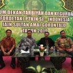 Forum Dekan Tarbiyah dan Keguruan (Fordetak) PTKIN se Indonesia berlangsung di Gorontalo (Foto: Mj/zonatimes.com)