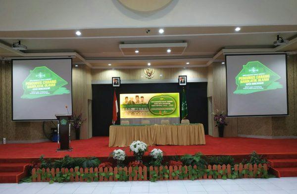 Persiapkan Mukercab 1 NU Makassar di Aula Balai Diklat Keagamaan Makassar (Foto: Istimewa/zonatimes.com)
