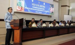 Foto: Nurdin Abdullah di High Level Meeting