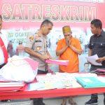 Pimpinan Tarekat Khalwatiyah Gowa Sulsel diamankan polisi Ngaku Rasul hingga jual kartu surga (Foto: Rahman/zonatimes.com)