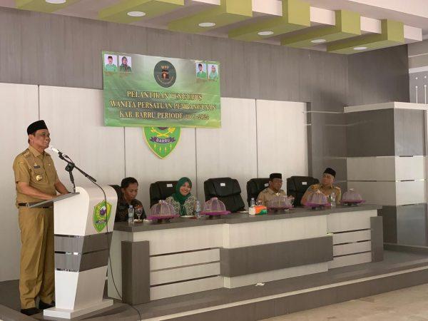 Bupati Barru Suardi Saleh hadiri Pelantikan Pengurus Cabang Wanita Persatuan Pembangunan (PC WPP) Kabupaten Barru Periode 2019-2024 (Foto: Rahman/ zonatimes.com)