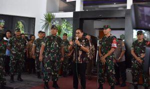 Wabup Takalar apresiasi Kodam Hasanuddin (Foto: Jaya/zonatimes.com)