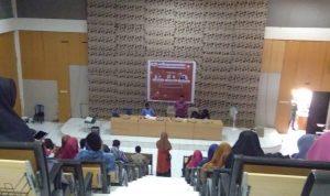Seminar Islam Nasional HMJ Manajemen Dakwah UIN Alauddin Makassar (Foto: Nadia/zonatimes.com)