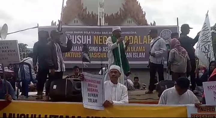 Aliansi Umat Islam Sulawesi Selatan (Foto: Bambang/zonatimes.com)